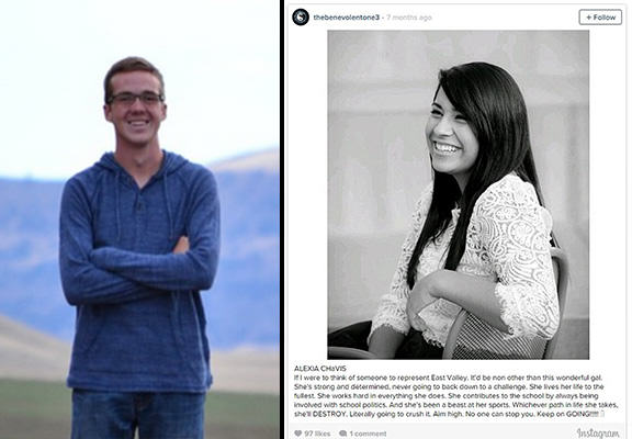 Lad Anonymously Posted Kind Messages About Classmates On Instagram For A Year konner suave WEB