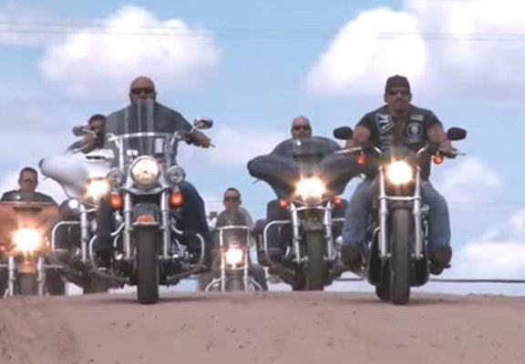 Biker Gang Come To Aid Of Bullied Five Year Old Kid With Special Needs punisher web