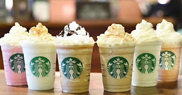 Starbucks Are Introducing SIX New Frappuccino Flavours For Their Anniversary red v fb1