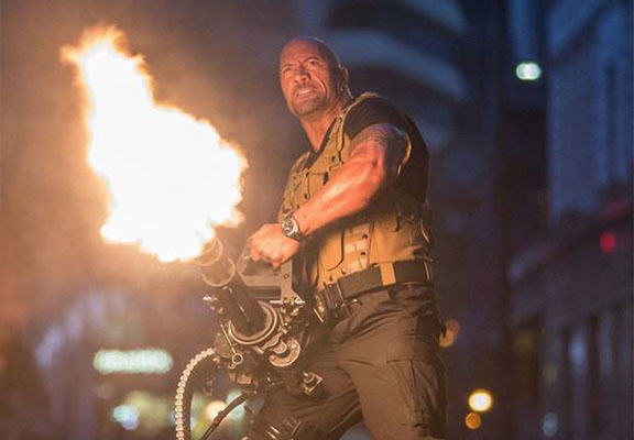 The Rock Wants To Star In Movie Based On 1980s Arcade Game Rampage rock rampage WEB