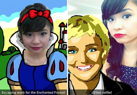 This Girl Earns $10,000 Every Time She Posts A Snapchat snapchat art WEB