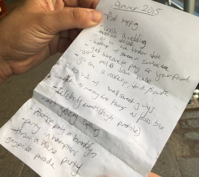 This Guys List Of Summer 2015 Targets Is Seriously Ambitious summer141