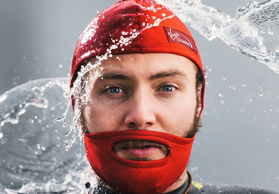 Swimming Cap For Beards Really Is A Hipsters Dream Come True swimming web