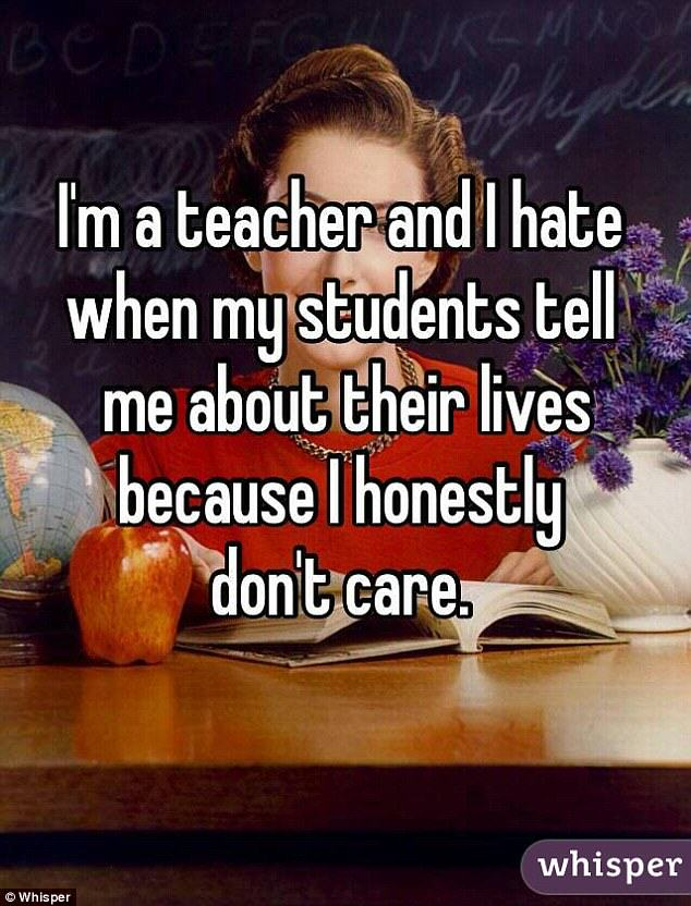 Teachers Confess Shocking Thoughts About Their Pupils teacher confession 1
