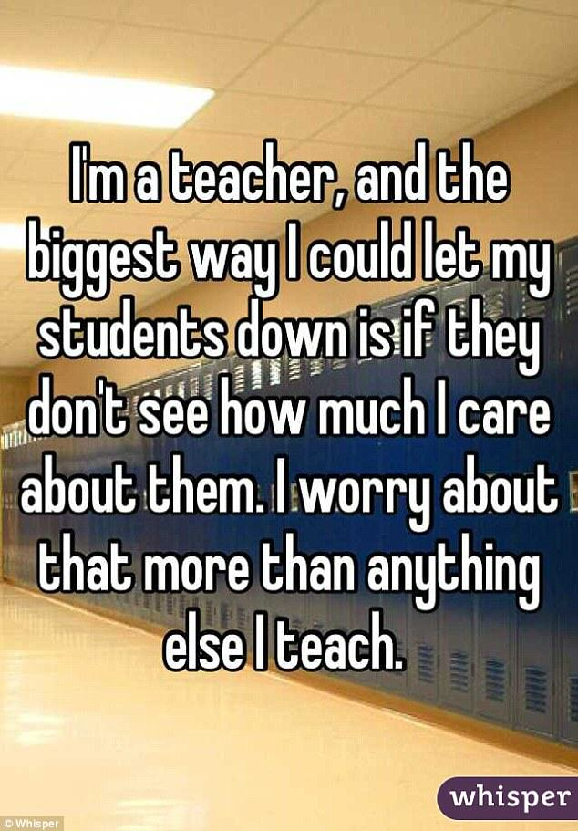 Teachers Confess Shocking Thoughts About Their Pupils teacher confession 10