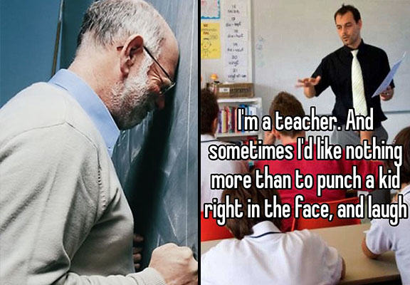 Teachers Confess Shocking Thoughts About Their Pupils teacher confession WEB