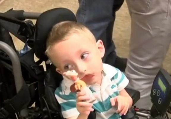 Man Auctions Toy Collection To Get Disabled Boy New Wheelchair toy collection web