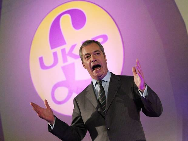 Nigel Farage And UKIP Banned From London Gay Pride March ukip gay 1
