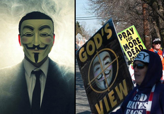 Anonymous Target Westboro Baptist Church After They Threaten To Picket Charleston Funerals westboro anonymous WEB