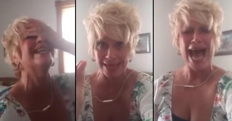 Crazy Christian Woman Completely Loses It Over Gay Marriage 112