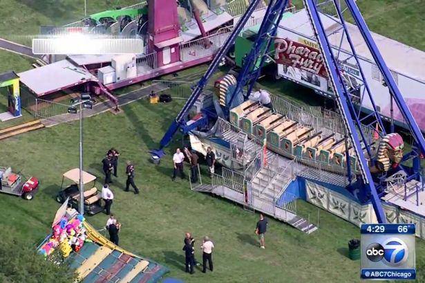 Man Commits Suicide At Fairground By Jumping In Front Of Swinging Pirate Ship 116