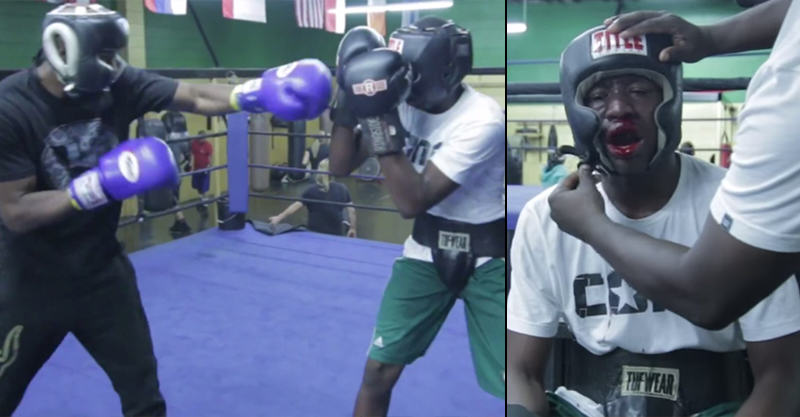 Teen Forced To Fight Pro Boxer After Dad Discovers Hes A Bully 130