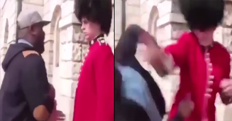 People Are Flipping Out Over Footage Of Queens Guard Punching A Man 133