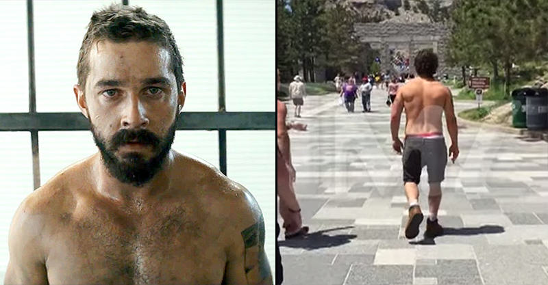 Shia LaBeouf Continues To Prove He Is Illuminati Confirmed 14