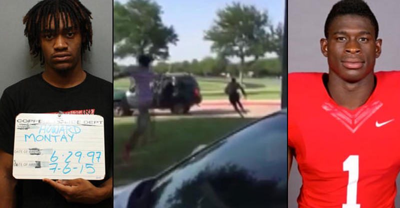 Footage Of American Football Player Being Shot Goes Viral 146