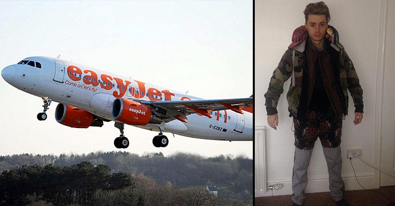 Teenager Wearing 12 Layers Of Clothes Collapses During Easyjet Flight 153