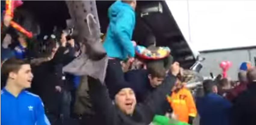 Grimsby Town Fan Found Guilty Of Common Assault   For Hitting  Steward With An Inflatable Shark 180