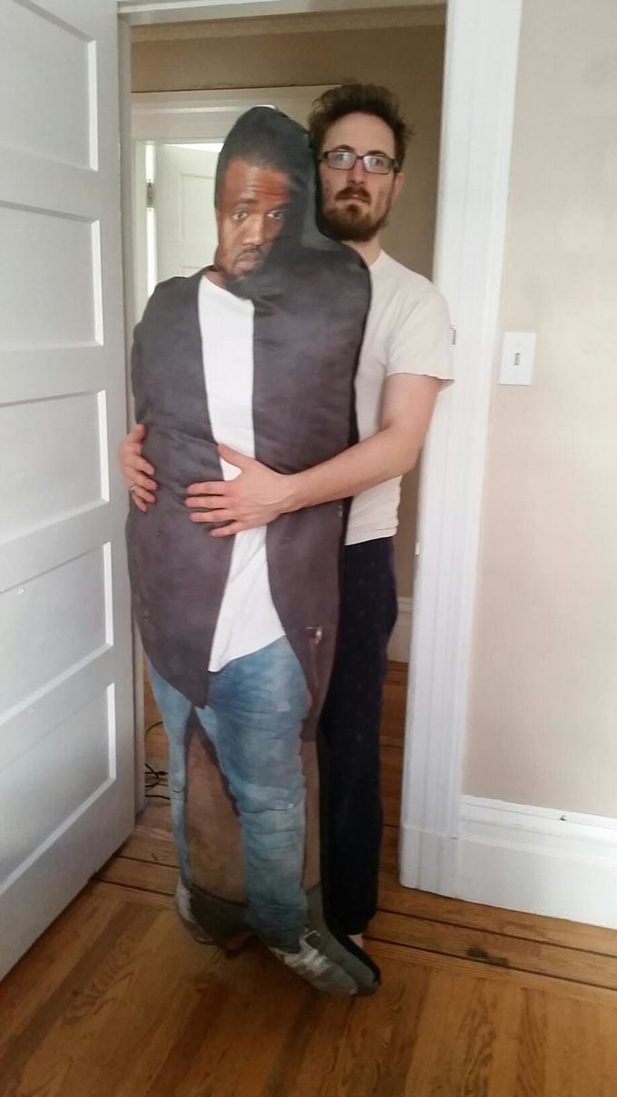 These Guys Want To Give Kanye This Lifesized Pillow Of Kanye 218
