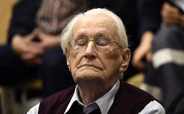The 94 Year Old Bookkeeper Of Auschwitz Is Jailed For 4 Years For Helping Murder 300,000 Jews 230