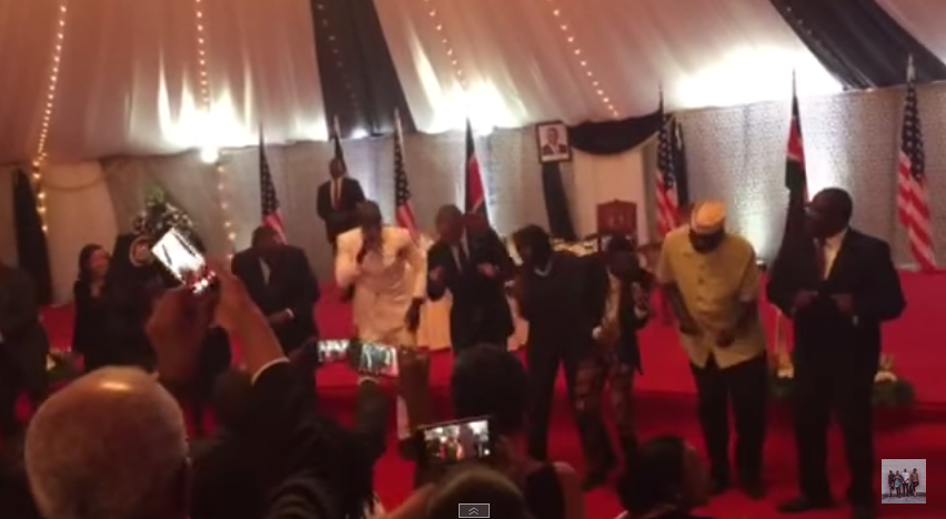 President Obama Busts A Move On His State Visit To Kenya 55b5f706bb5bb