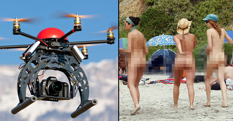 Someone Is Using A Drone To Spy On Nudists In Britain 55b5fcf359dd2