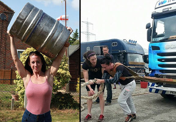Size 10 Former Hairdresser Who Can Pull Lorries Crowned Britains Strongest Woman 55b617dd92b3b