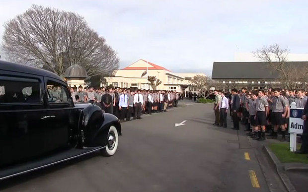 Entire School In New Zealand Perform Touching Haka Dance At Teachers Funeral 55b695560386f