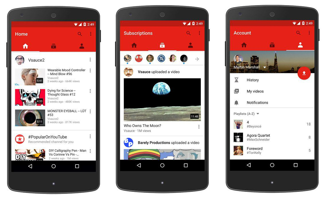 New Streamlined YouTube Design Fixes A Problem That Annoys EVERYONE 55b7475fe3246