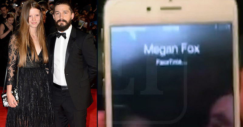 Shia LaBeouf Facetimes Megan Fox After Drunk Fight With Girlfriend 55b797c4acb82