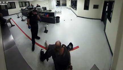 Cop Investigated For Throwing Peanuts At Homeless Man In Custody 55b79eb35b90f