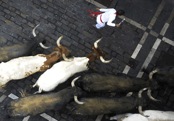 Spanish Town Cancels Bullfighting To Spend Money On Something More Sensible 55b7acdcd6d82