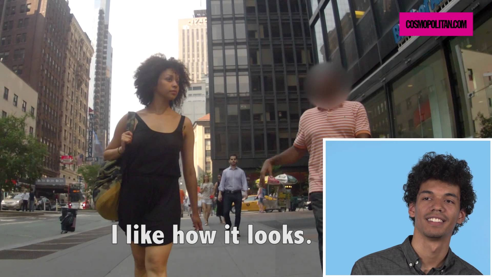 Guys React To Shocking Footage Of Other Men Catcalling Their Girlfriends 55b7b3b4e4b6e