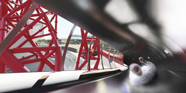 Worlds Biggest Helter Skelter Is Coming To Londons Orbit Tower 55b9029d69e13