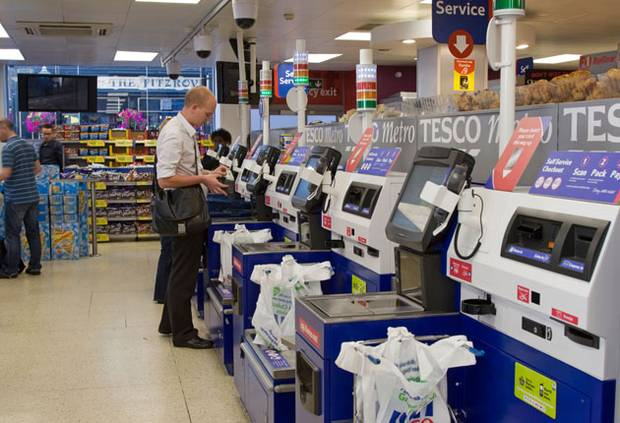 Tesco Drops Annoying 'Unexpected Item In Bagging Area' Phrase At Self Checkout %name