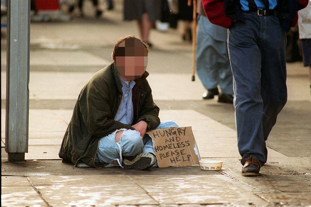 OPINION: Should We Give Beggars Money? A beggar
