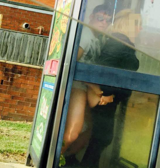 Couple Stop To Have Sex In Phone Box On Way To Buy Fish, As You Do Box 1 SWNS