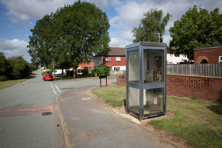 Couple Stop To Have Sex In Phone Box On Way To Buy Fish, As You Do Box 2 SWNS