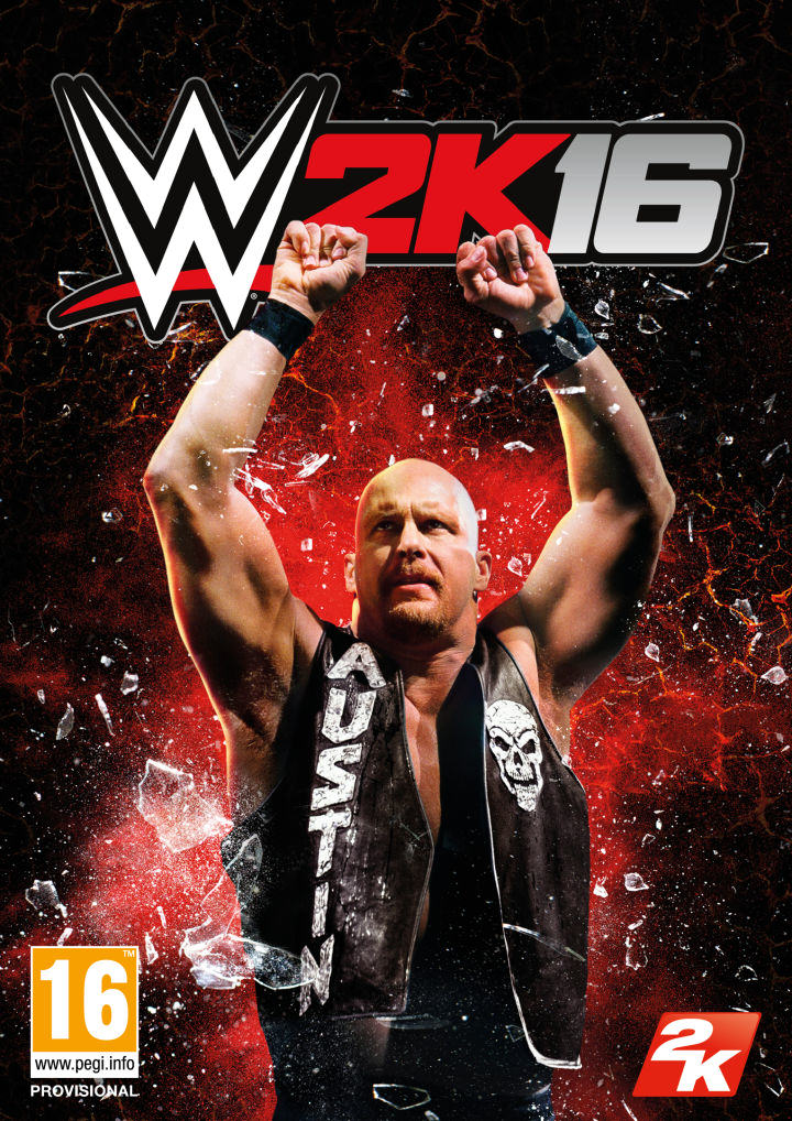 WWE 2k16s New Cover Superstar Is The Legendary Stone Cold Steve Austin STEVEA