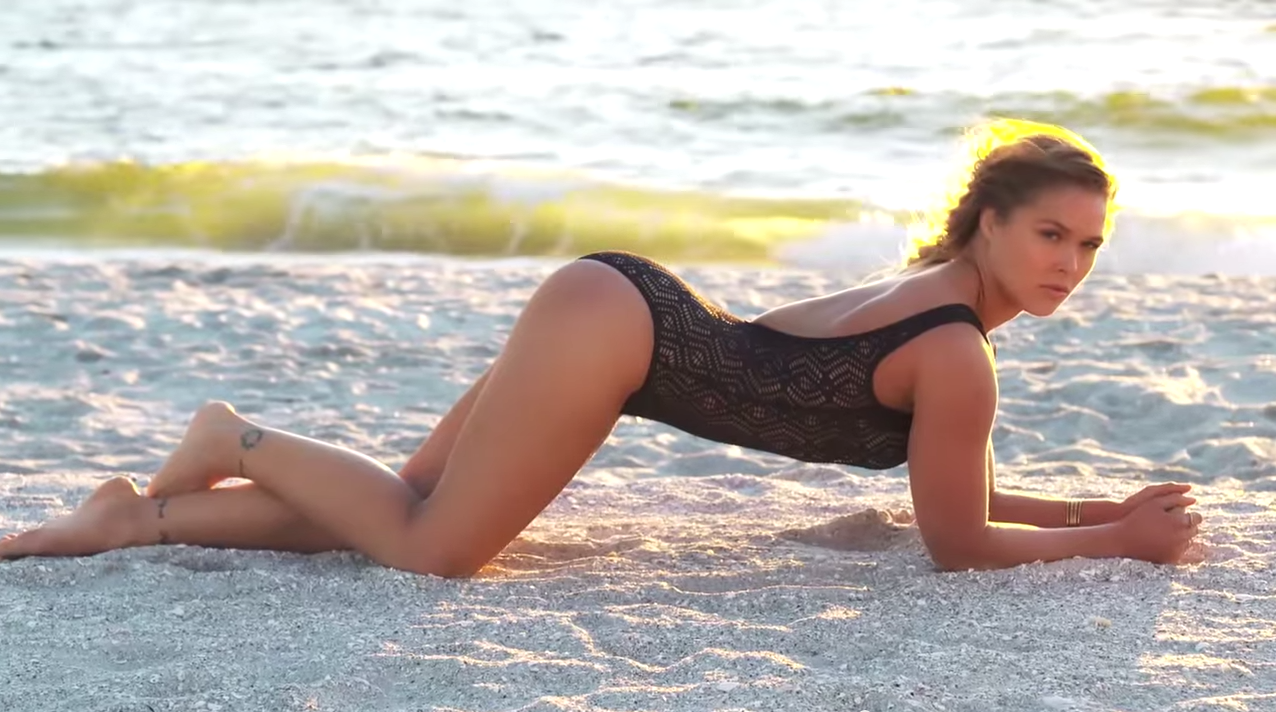The Video For Ronda Rouseys SI Swimsuit Edition Is Here Screen Shot 2015 07 01 at 10.35.07