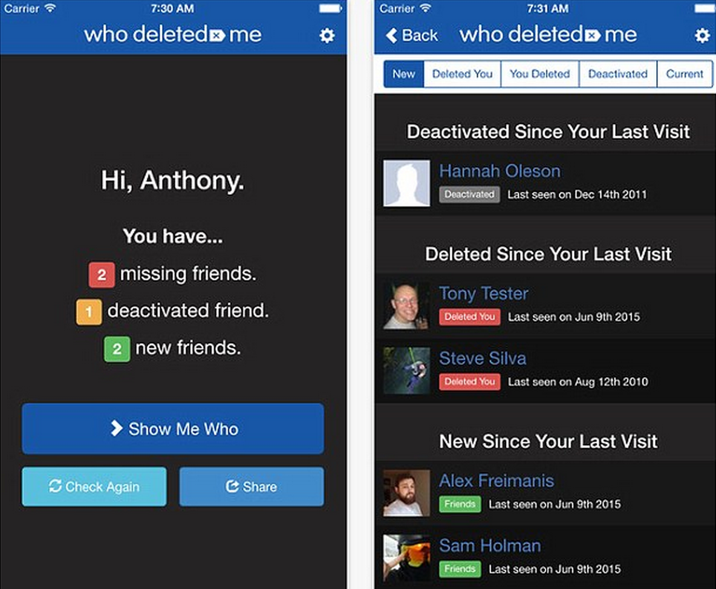 You Can Now Discover Who Has Deleted You On Facebook Screen Shot 2015 07 06 at 14.18.48