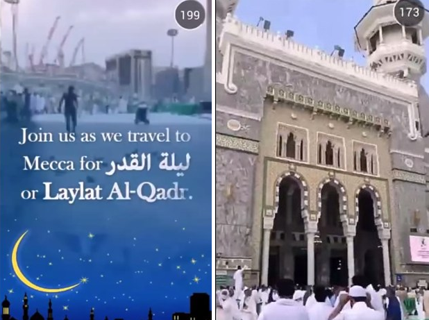 Snapchats Unbiased Mecca Live Stream Shows True Side Of Islam Screen Shot 2015 07 14 at 14.44.44