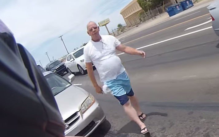Man Punches Motorcyclist In Road Rage Attack, Regrets It Instantly Screen Shot 2015 07 15 at 16.31.17