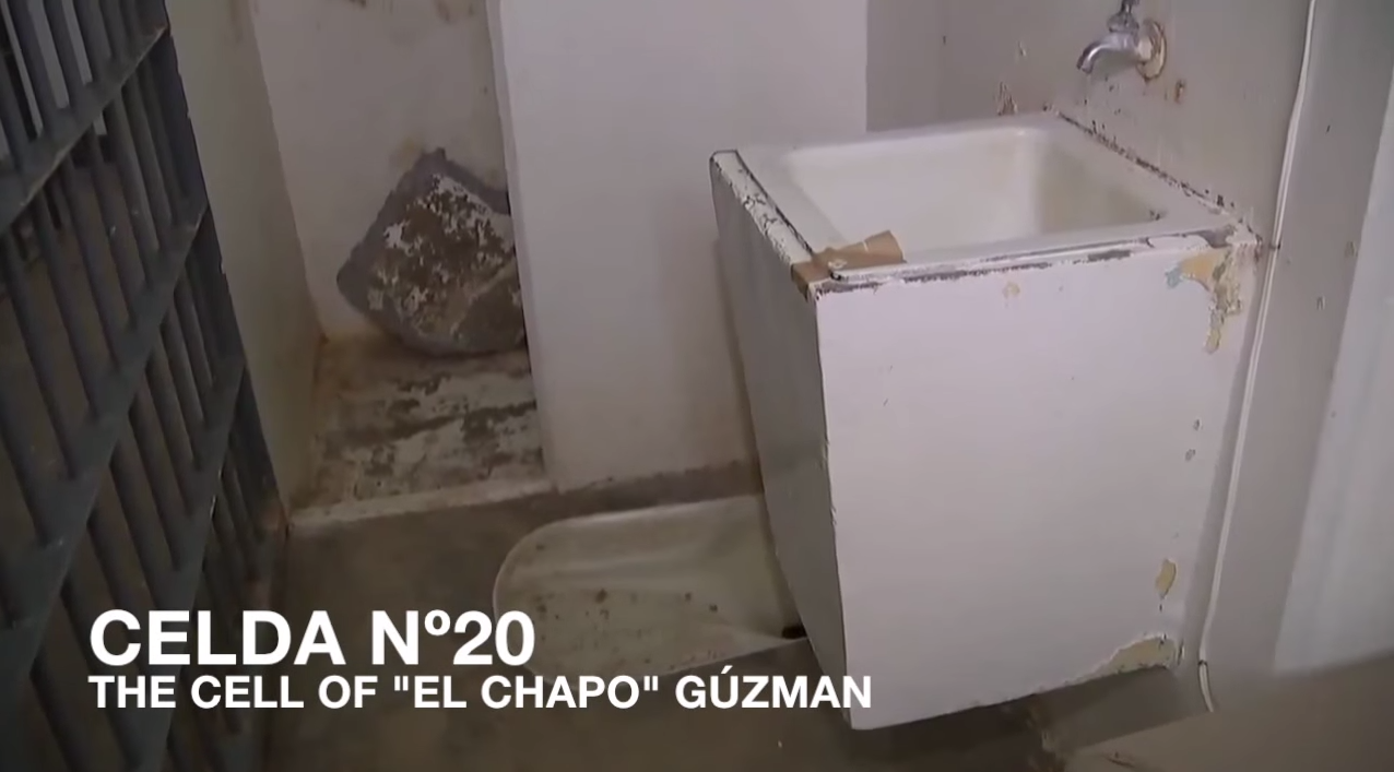 Incredible Video Takes You Through El Chapos Prison Escape Screen Shot 2015 07 16 at 14.11.11