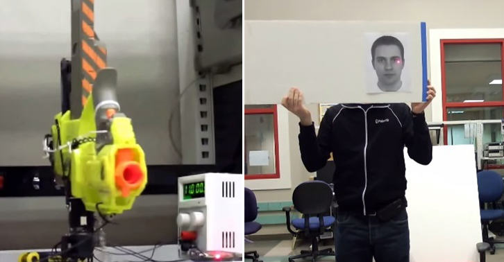 These Robotics Students Made A Turret Nerf Gun, And Its Bad Ass! TN126