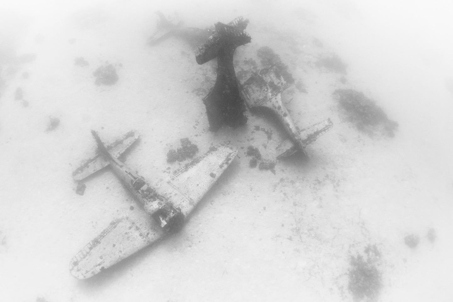 The Pacific Ocean Bed Is A Graveyard For World War II Planes  dsc7811
