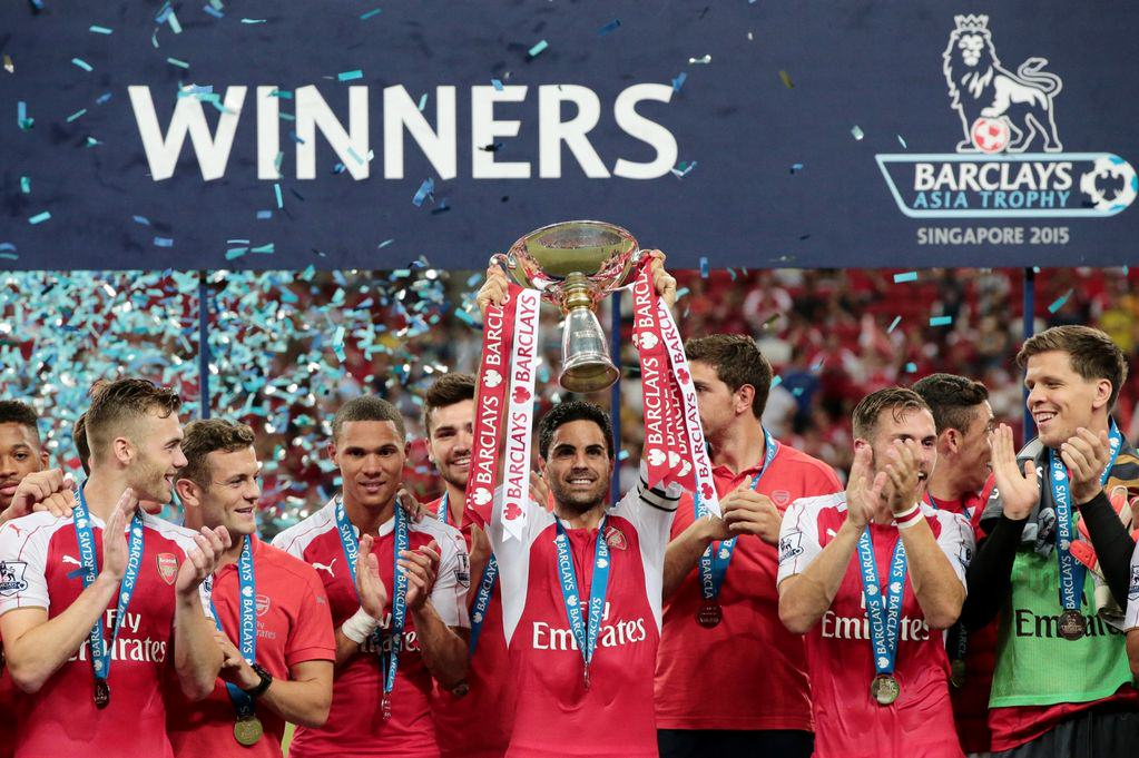 Internet Reacts To Arsenal Winning The Asia Trophy afc1
