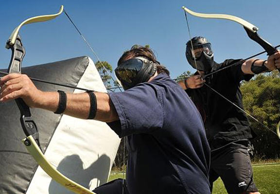 Archery Tag Is Now A Thing And It Blows Paintball Out Of The Water archery tag web