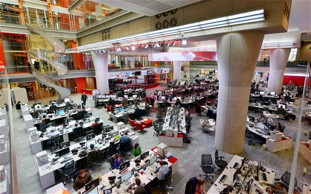 BBC To Cut Over 1000 Jobs After People Stop Paying Their TV License bbc newsroom 2563501b1