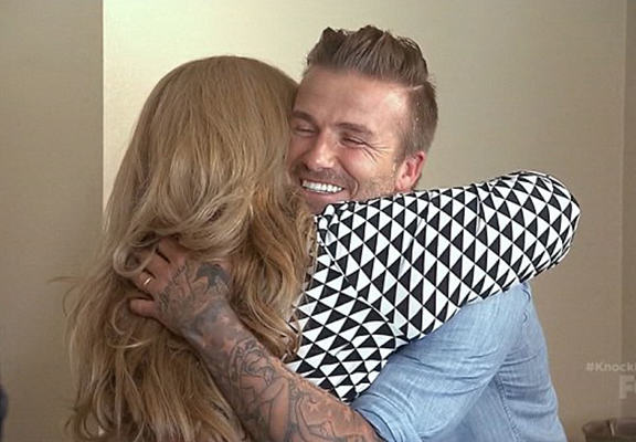 David Beckham Surprises Family With $100,000 On Ryan Seacrests New TV Show beckham surprise WEB