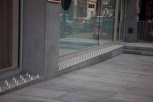Someone Is Turning Anti Homeless Spikes Into Beds better than spikes 1
